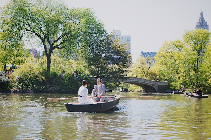 row boats central park elope