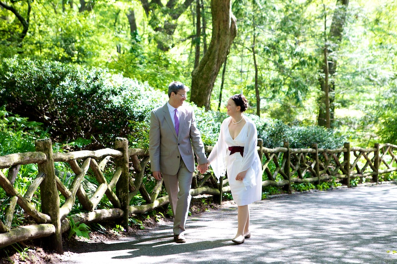 central park elope photography