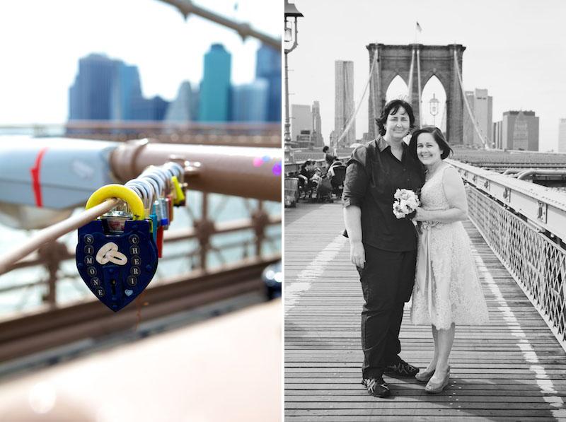 brooklyn bridge elopement
