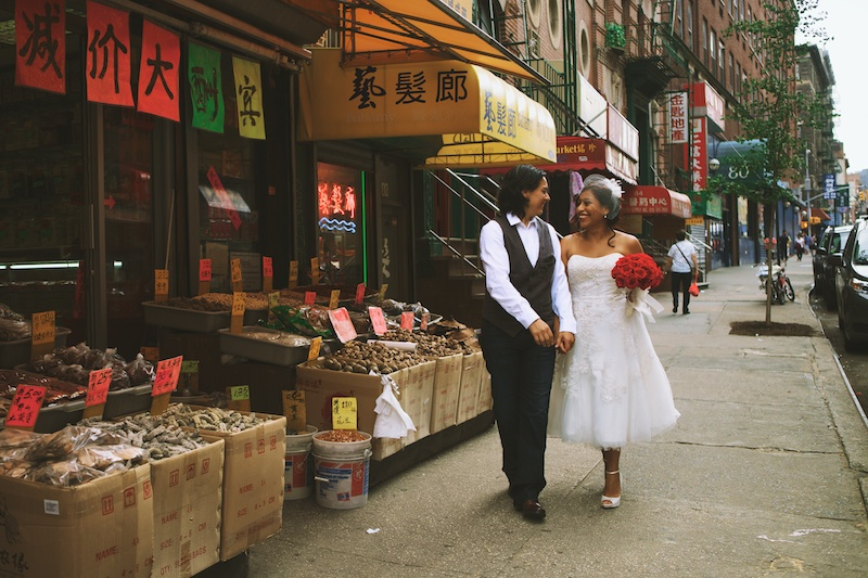 nyc intimate wedding photos