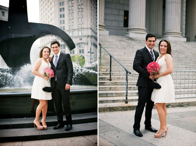 manhattan city hall wedding photography