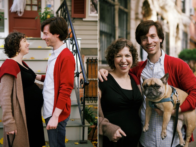 maternity photos park slope brooklyn