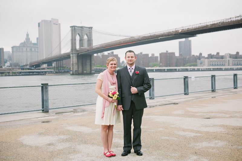 brooklyn bridge elopement