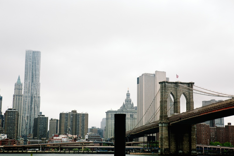 brooklyn bridge elopment photos