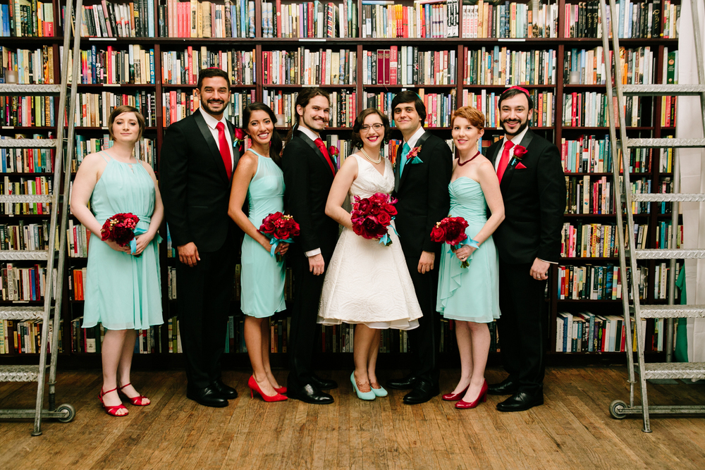 soho housing works bookstore wedding