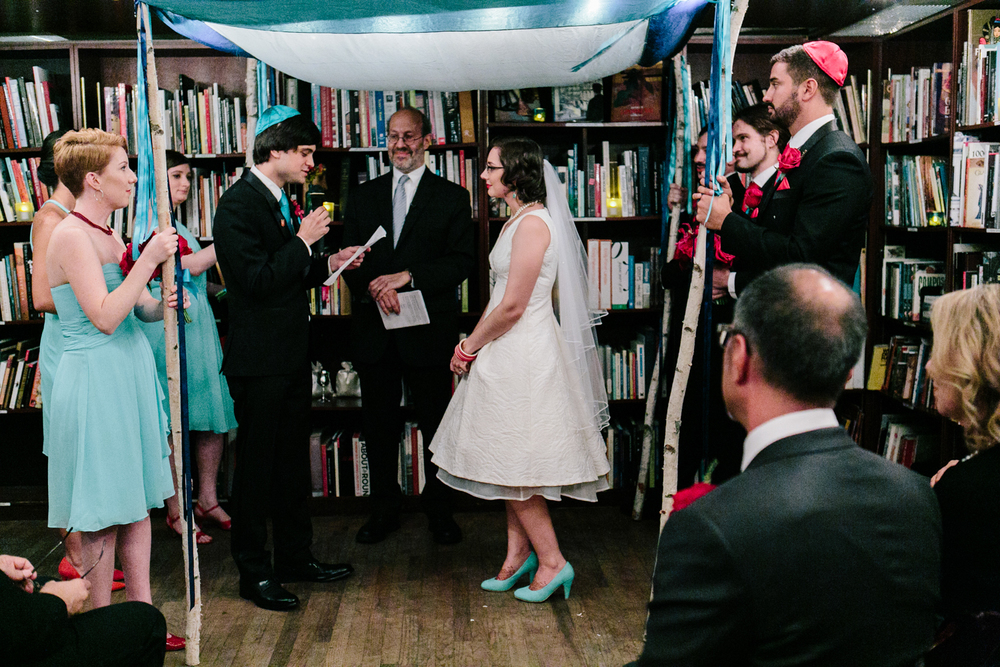 soho housingworks bookstore wedding