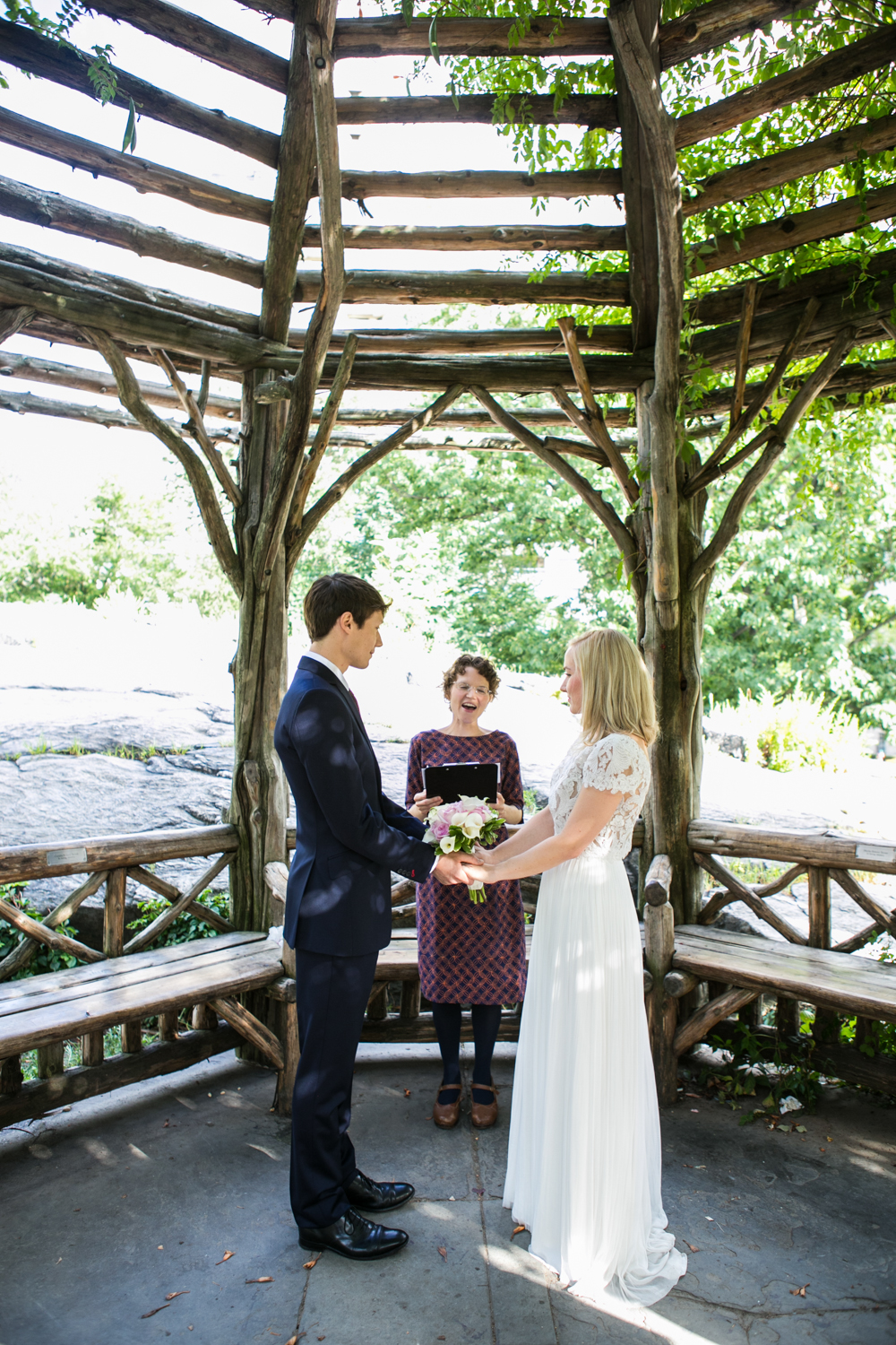 Dene Shelter Central Park Wedding