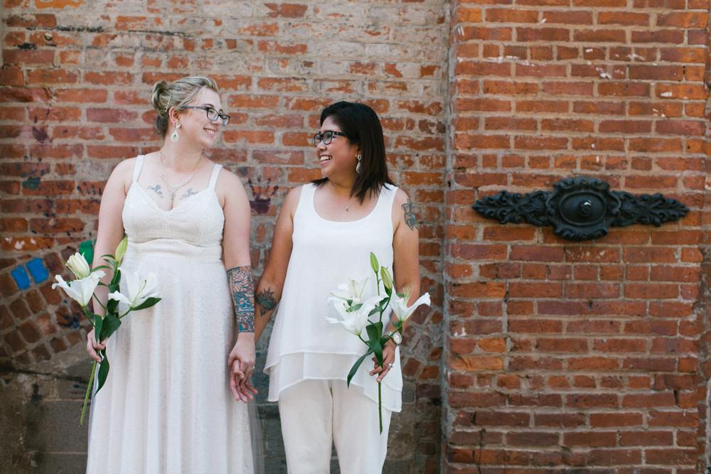 Brooklyn lesbian wedding