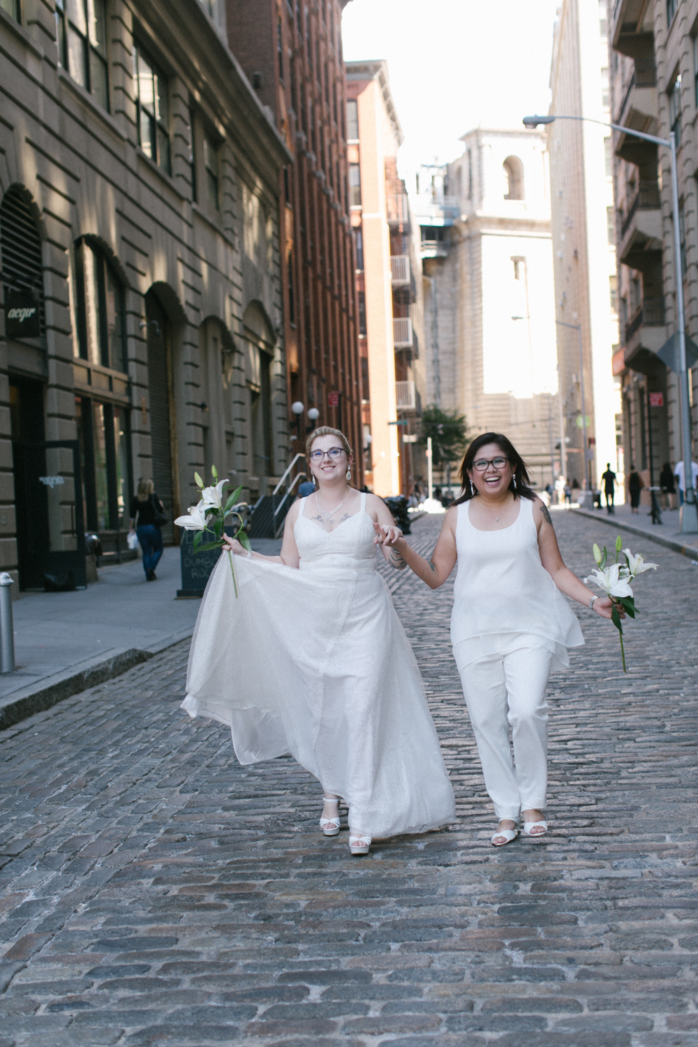 DUMBO Brooklyn elopement photos