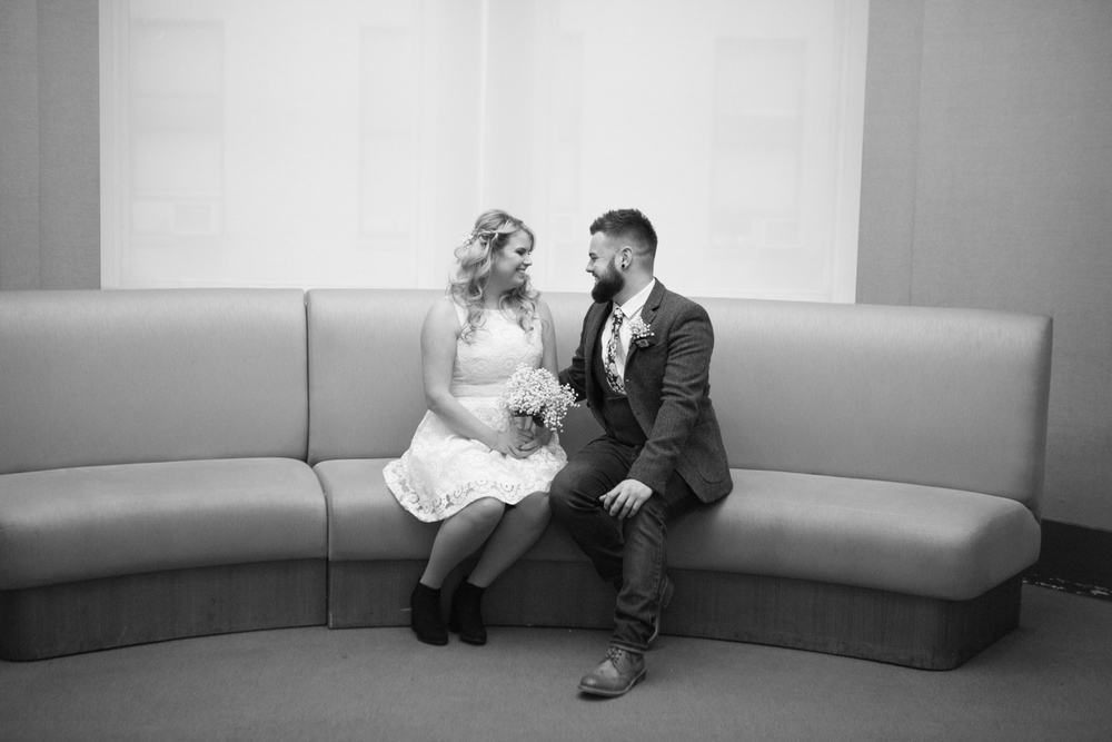 City Hall elopement in NYC