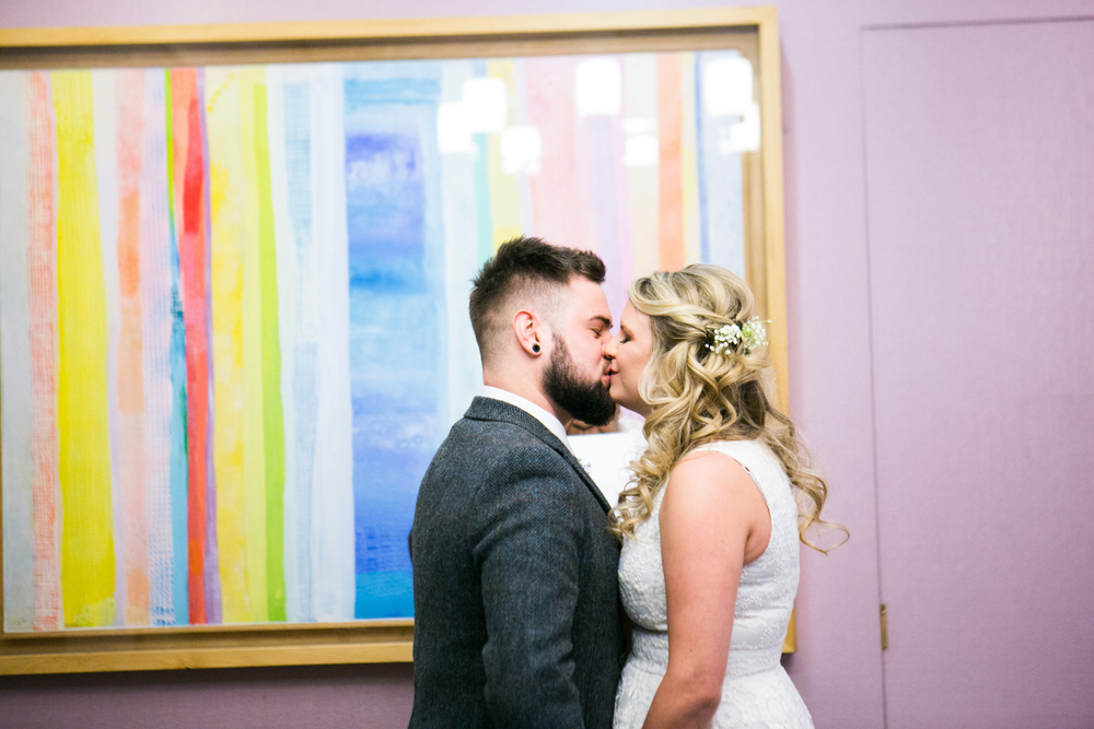 Manhattan City Hall elopement