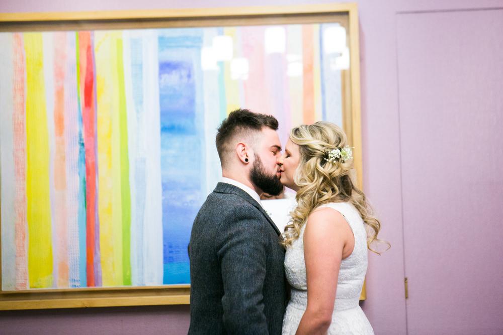 Manhattan City Hall elopement