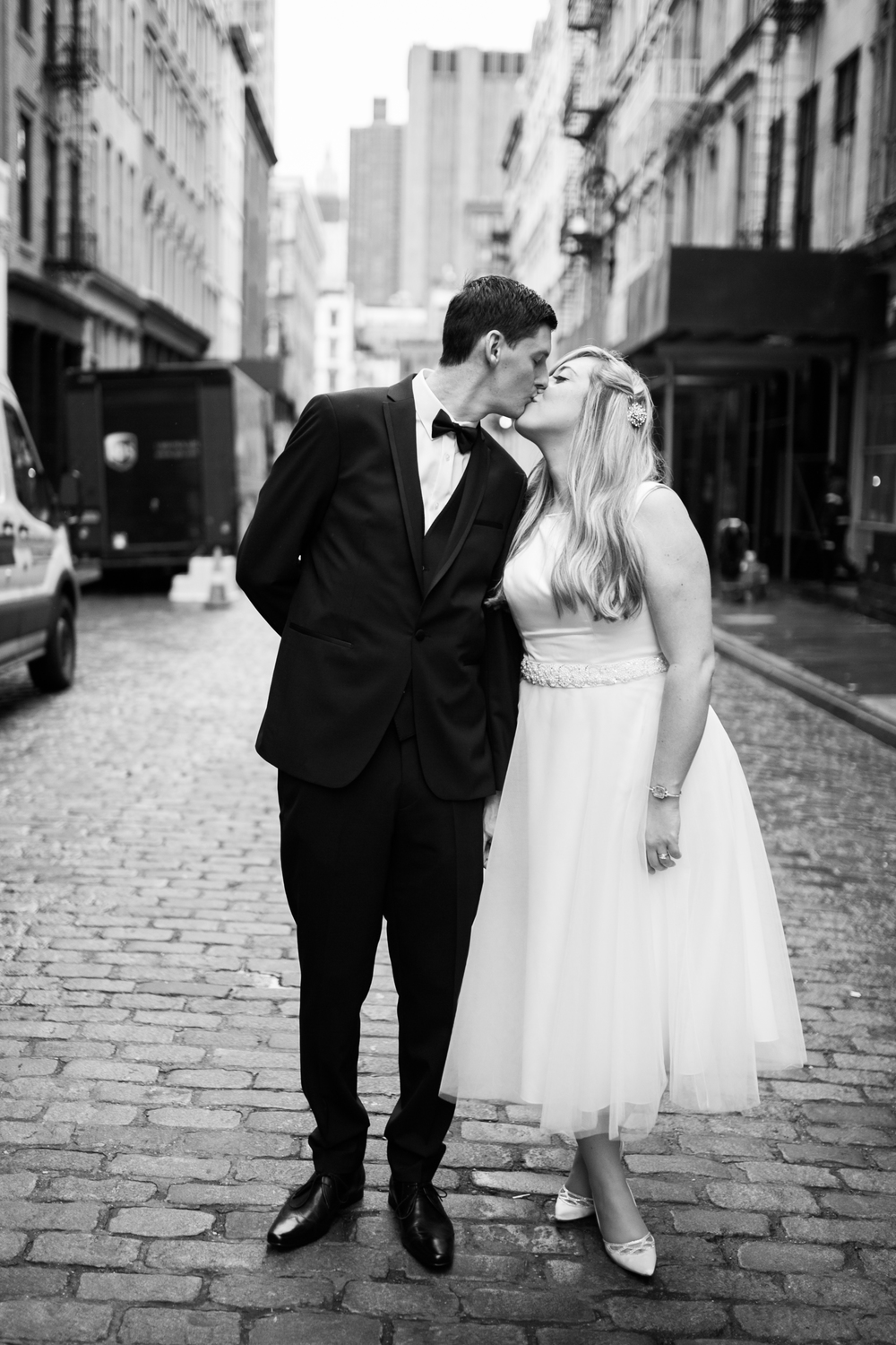 Classic NYC elopement
