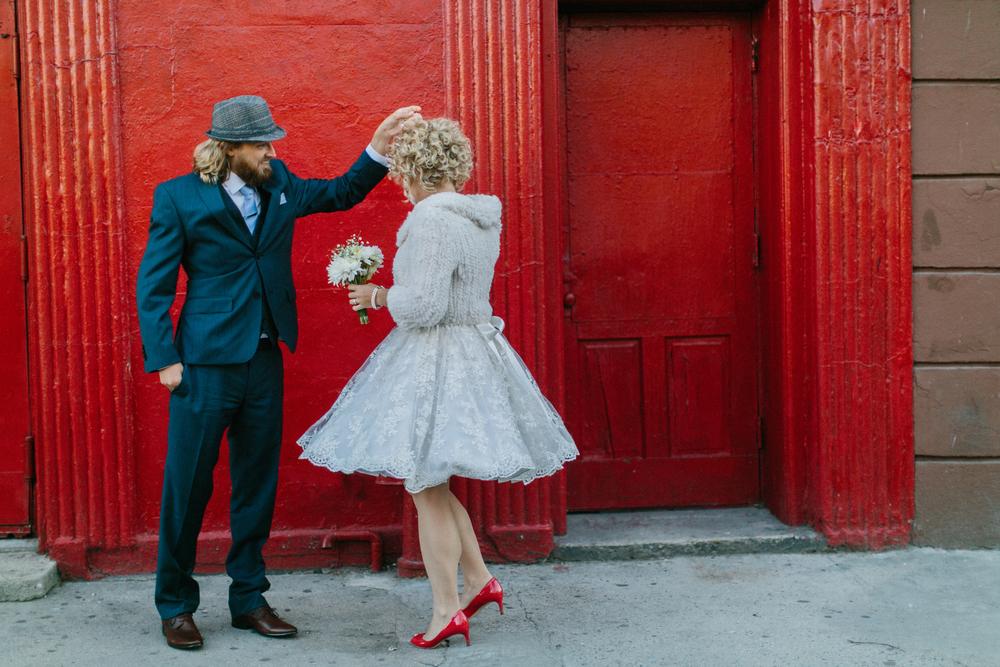 Fun NYC elopement