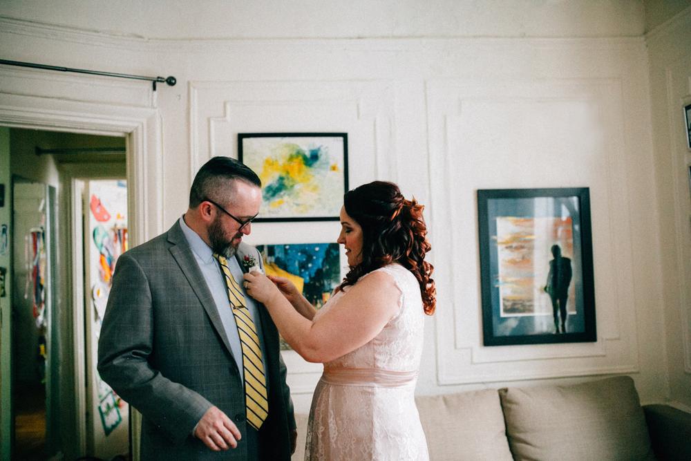 Intimate Wedding Brooklyn