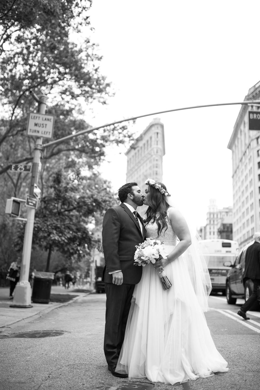 Flatiron NYC Wedding Photos
