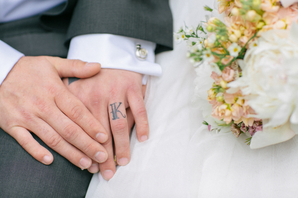 Wedding Tattoo on Ring Finger