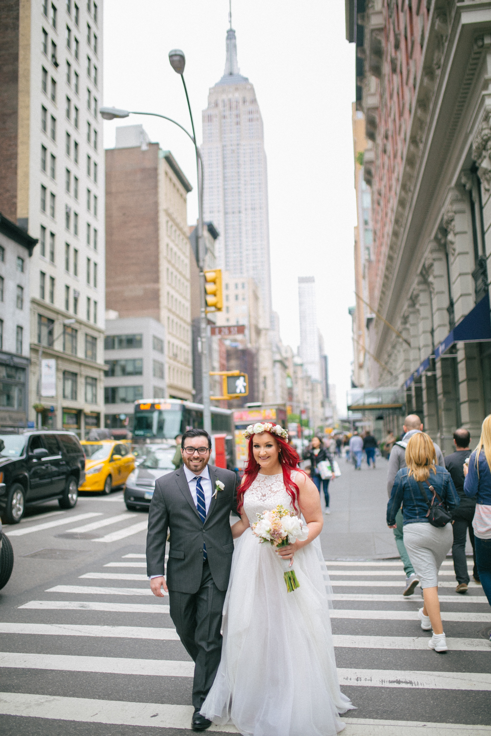 Empire State Building Wedding Phots