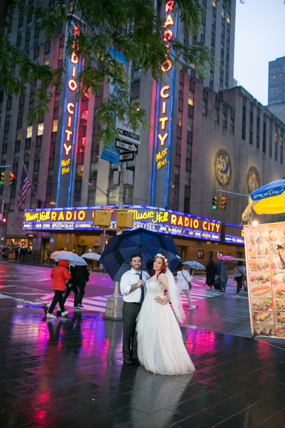 Radio City Music Hall Wedding Photos