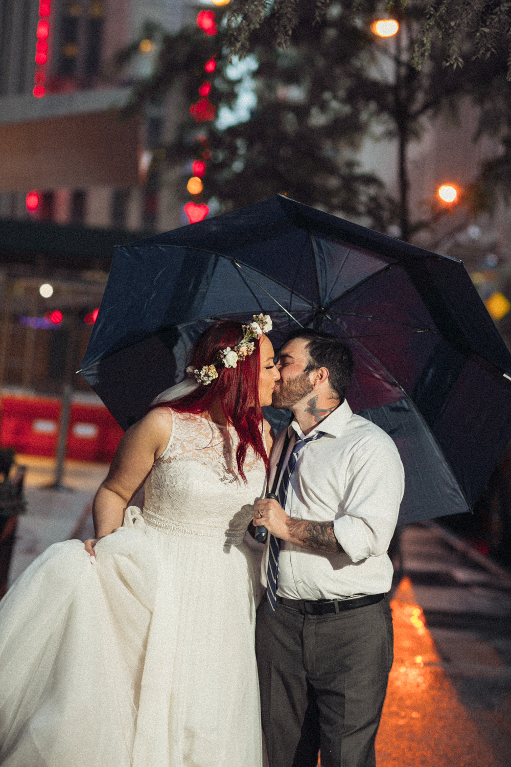 Rainy Day Wedding NYC