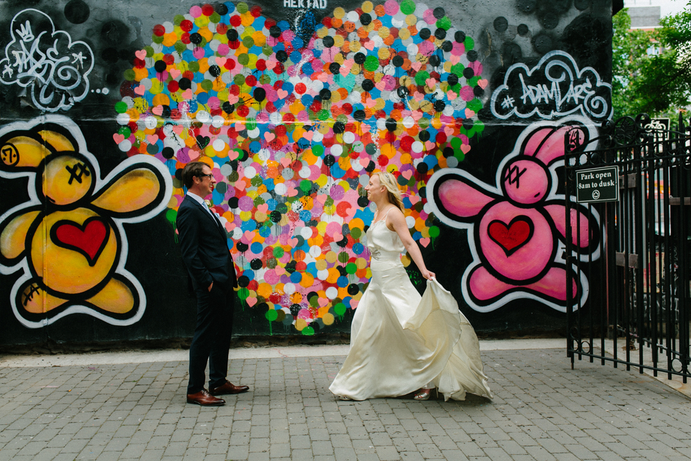 Heart Wall Elopement Photos