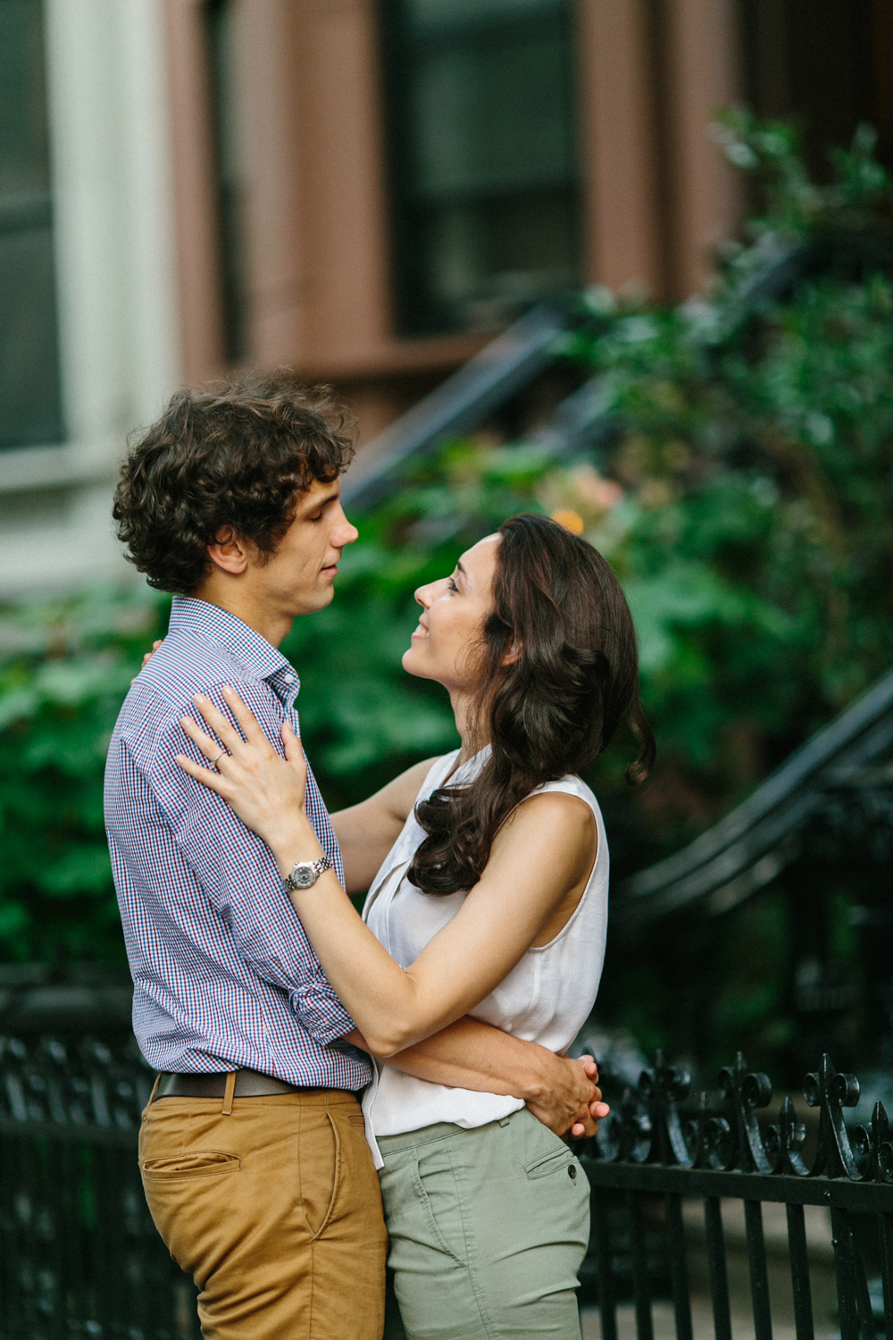 Engagement Photos in Park Slope