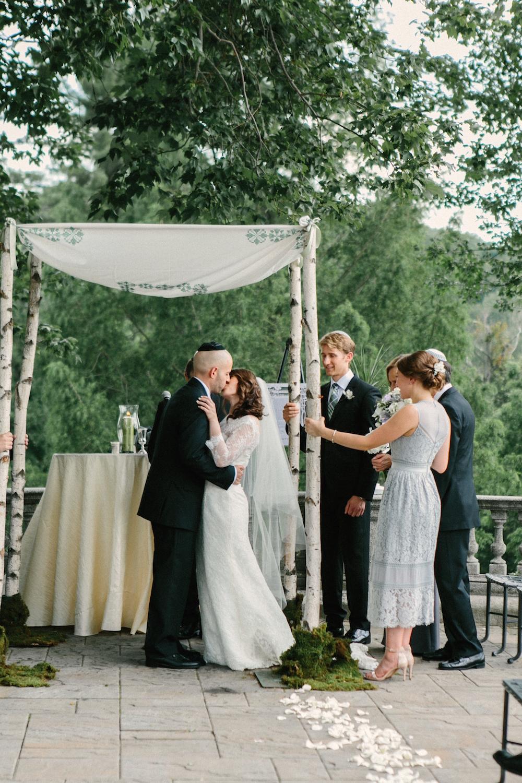 Tarrytown Estate House Jewish Wedding Ceremony