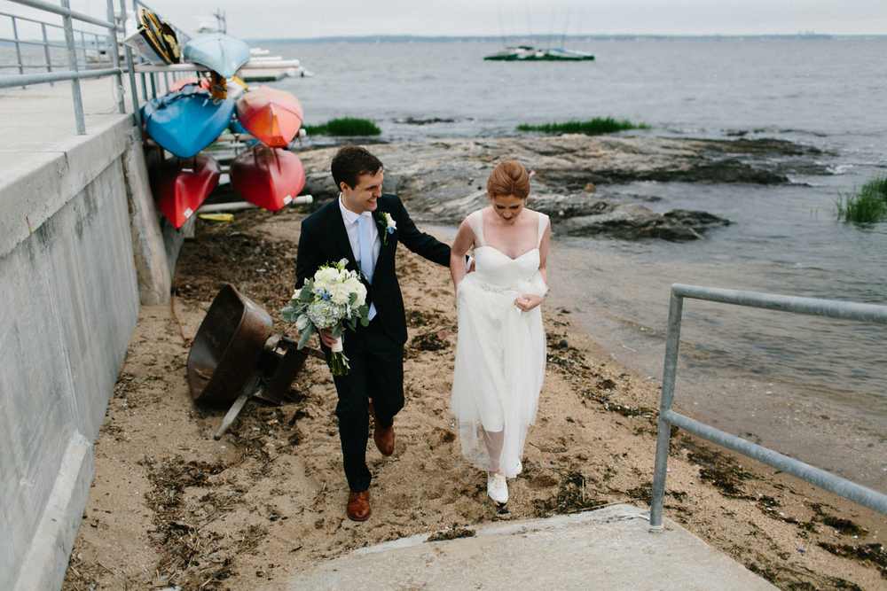 Larchmont Shore Club Wedding photos