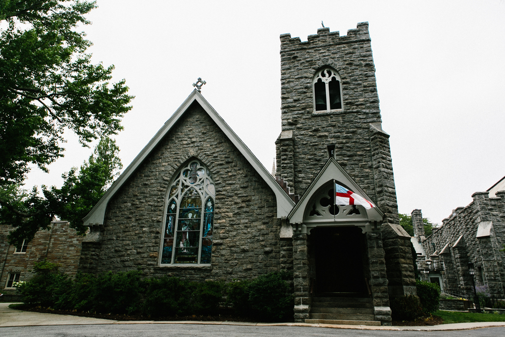 St John's Episcopal Church in Larchmont Wedding