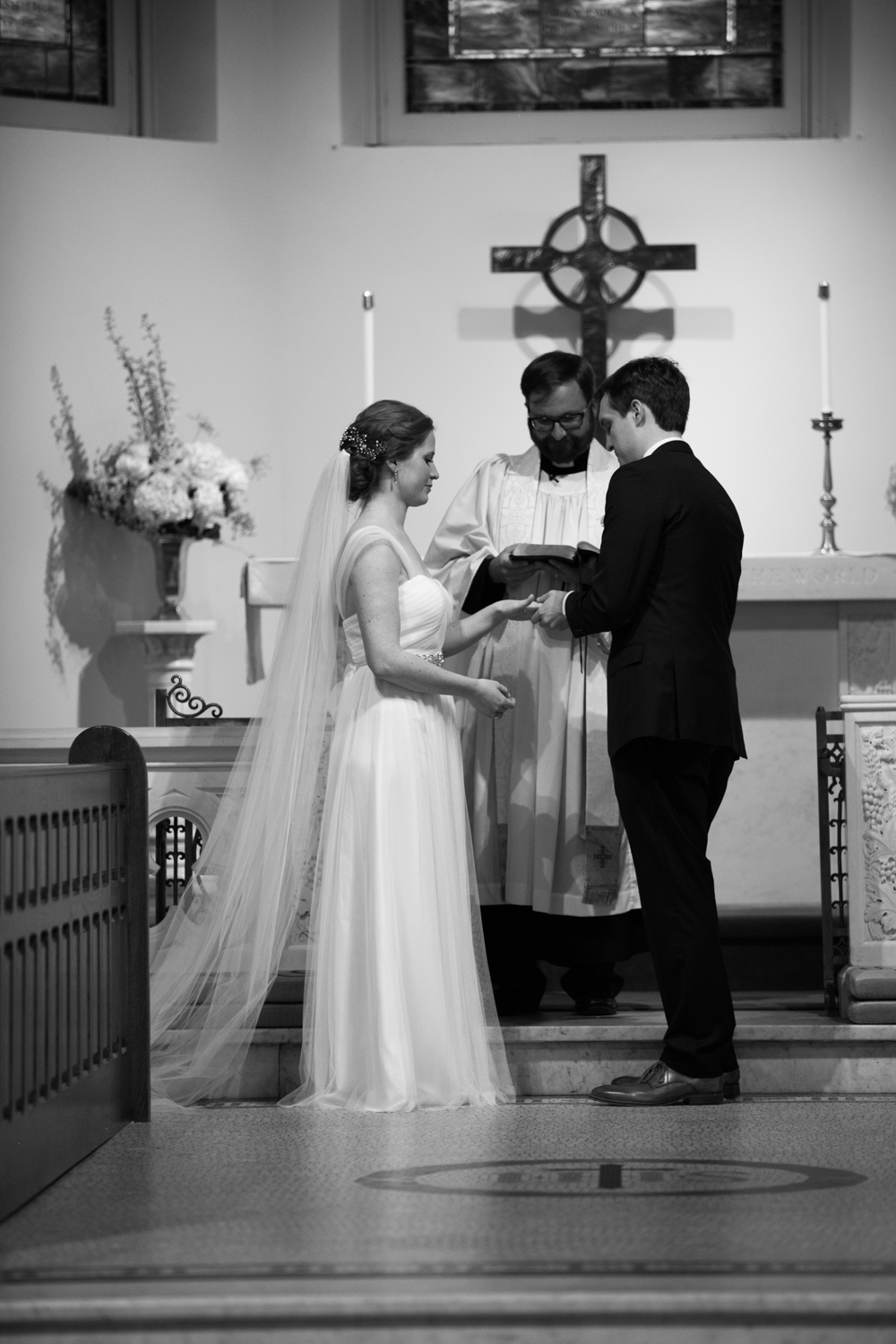 St John's Episcopal Church Wedding Ceremony