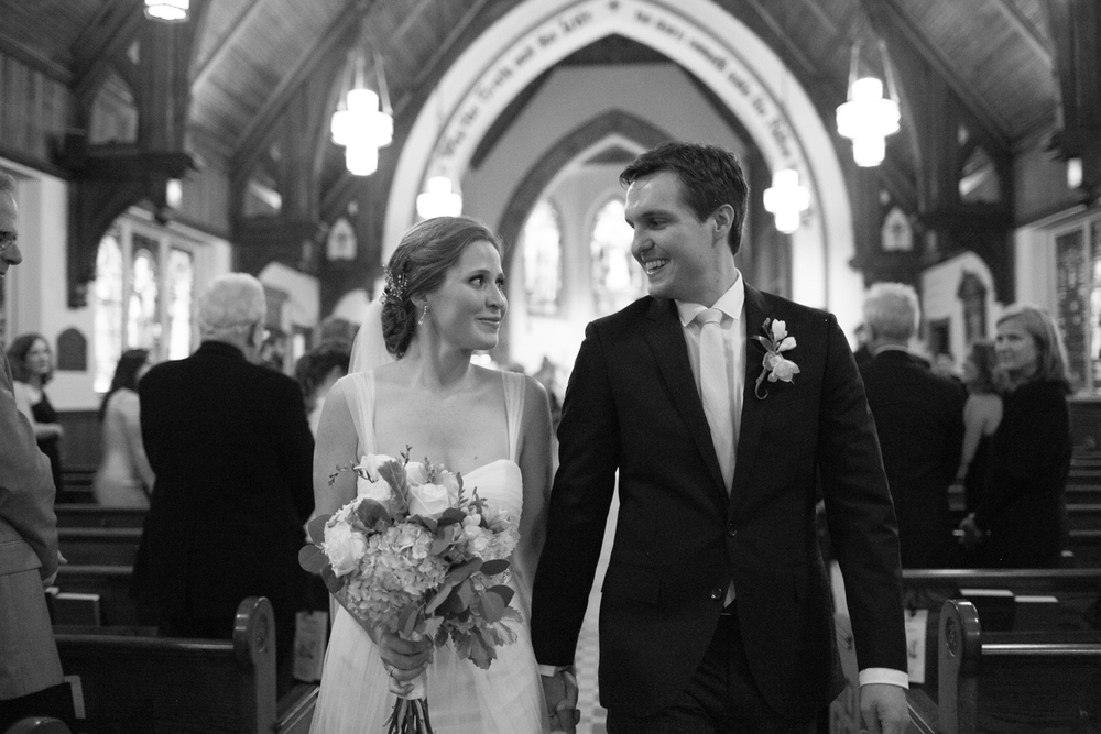 St John's Episcopal Church Wedding