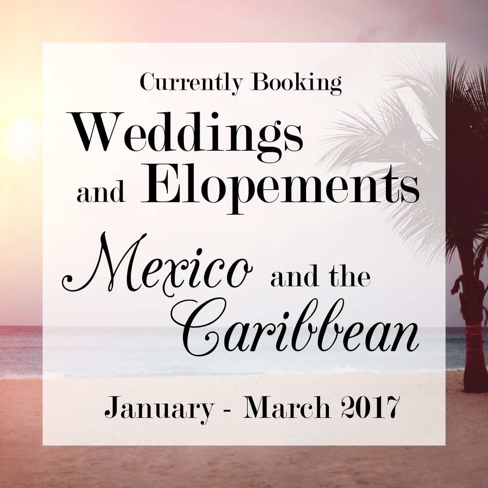 Caribbean and Mexican elopements