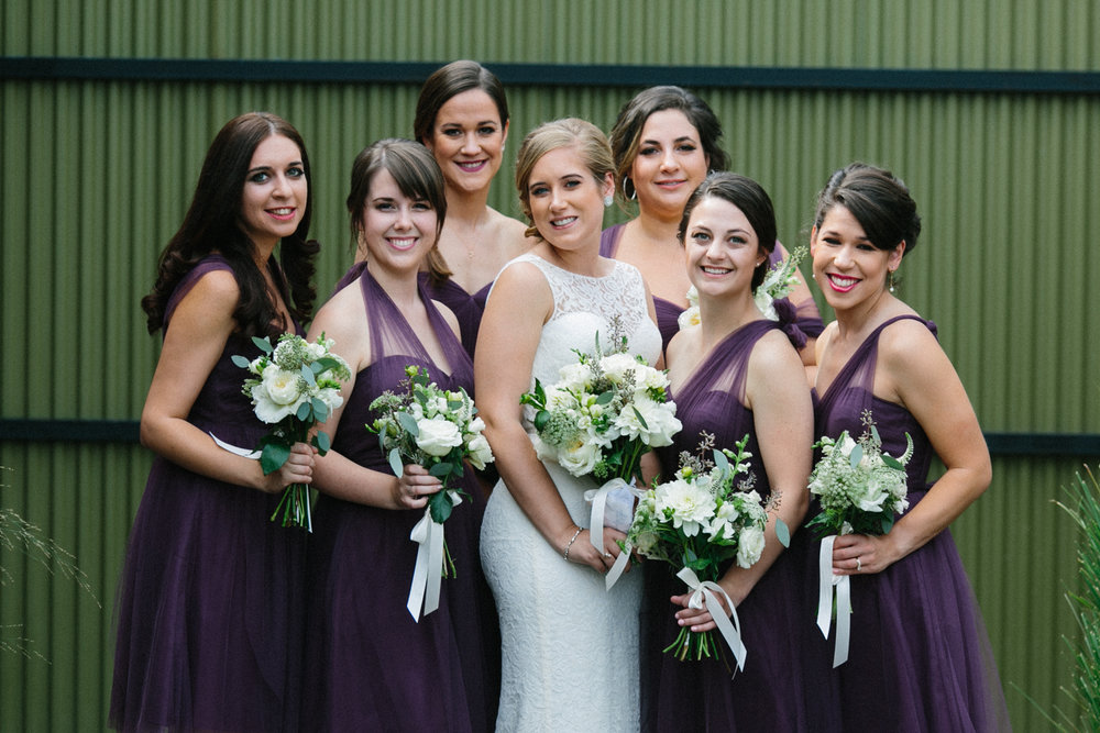 Purple Bridesmaid Dresses from Nordstrom