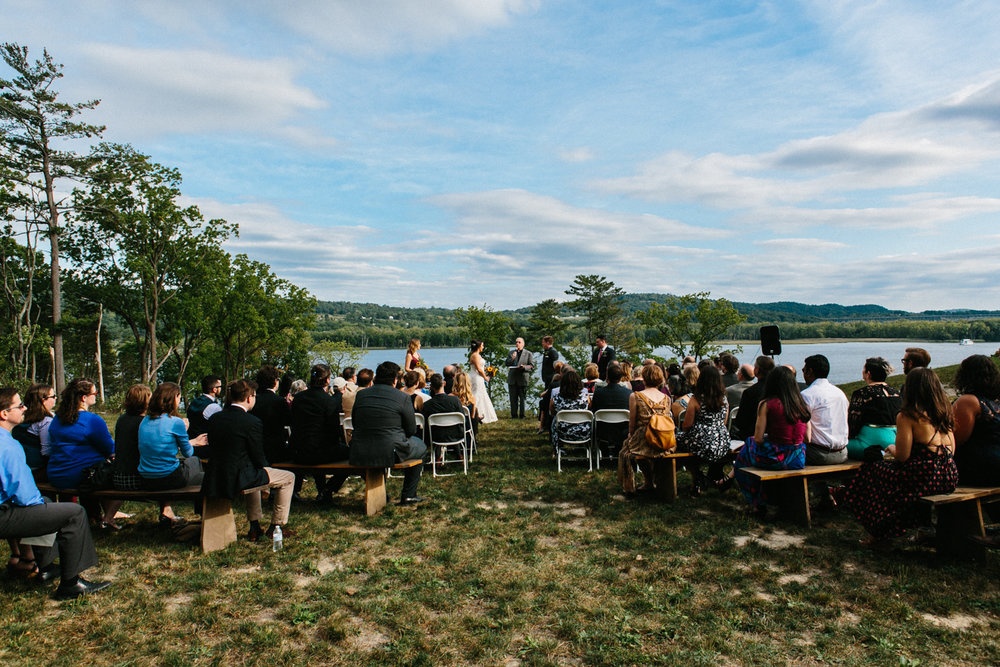 Shakespeare on the Hudson Wedding Ceremony