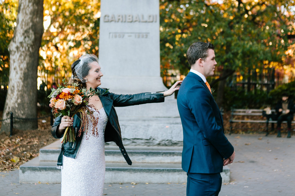 Washington Square Park NYC Wedding Photos