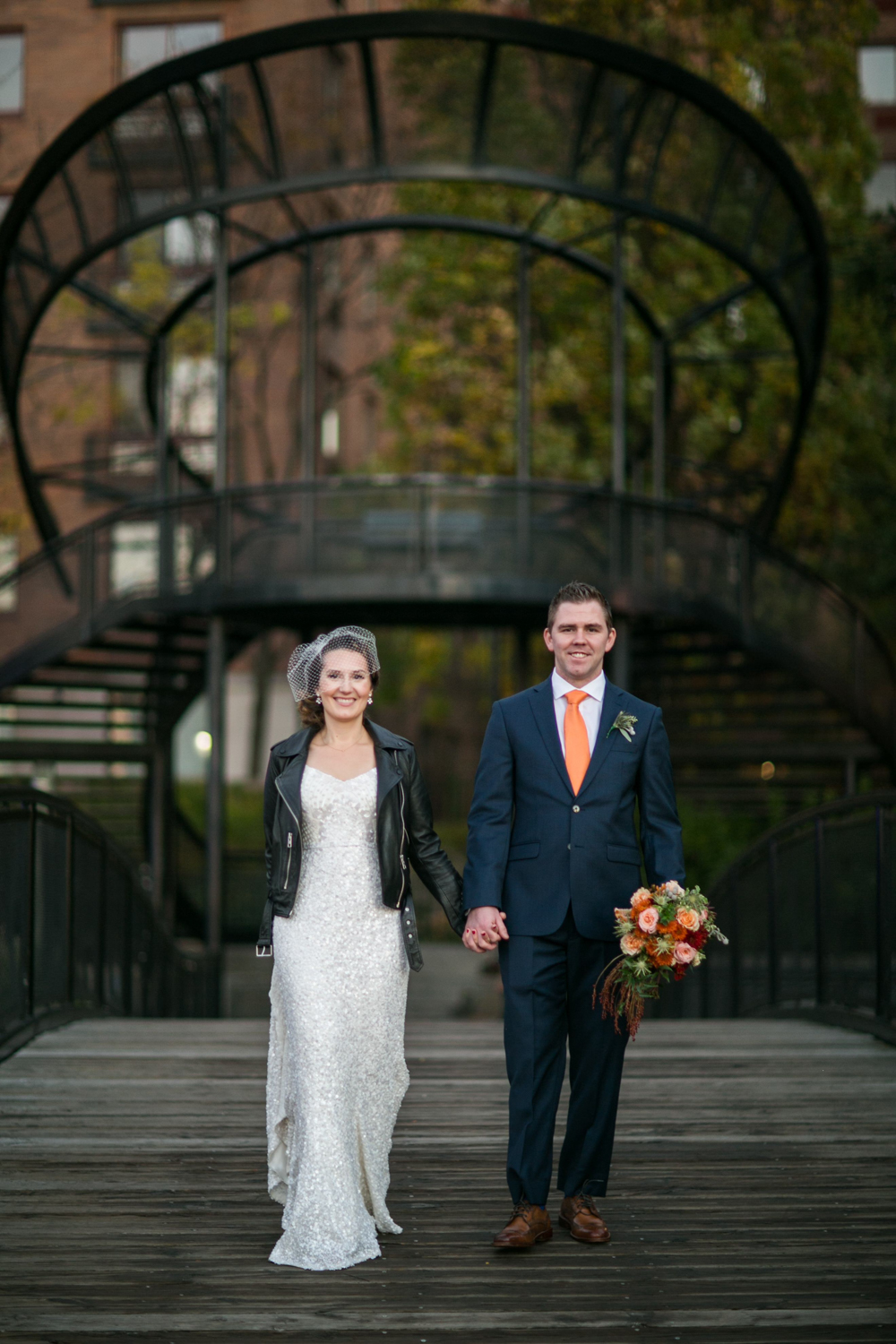 Battery Park City NYC Wedding Photos