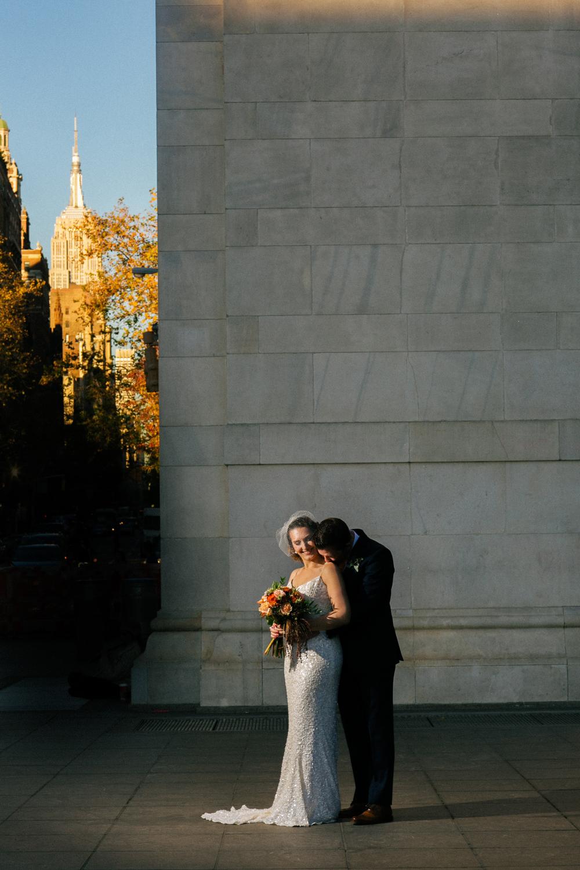 Washington Square Park Wedding Photos