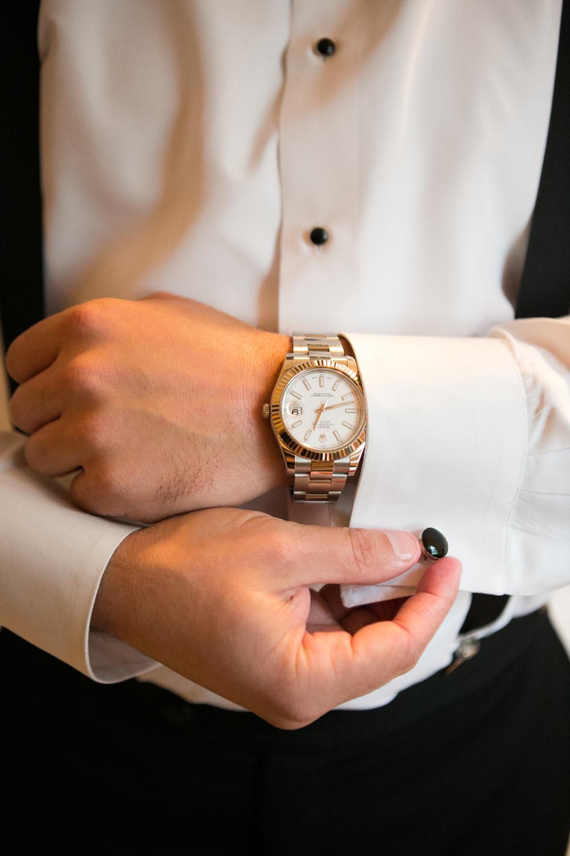 Groom's Rolex Watch