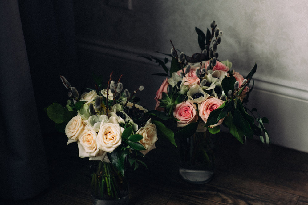 Lesbian Wedding Bridal Bouquets from Opalia | photographed by Amber Marlow, NYC