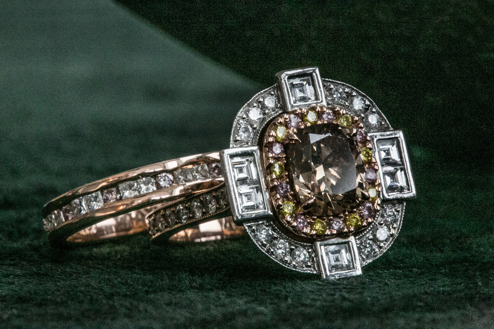 Lewis Joallier custom engagement ring