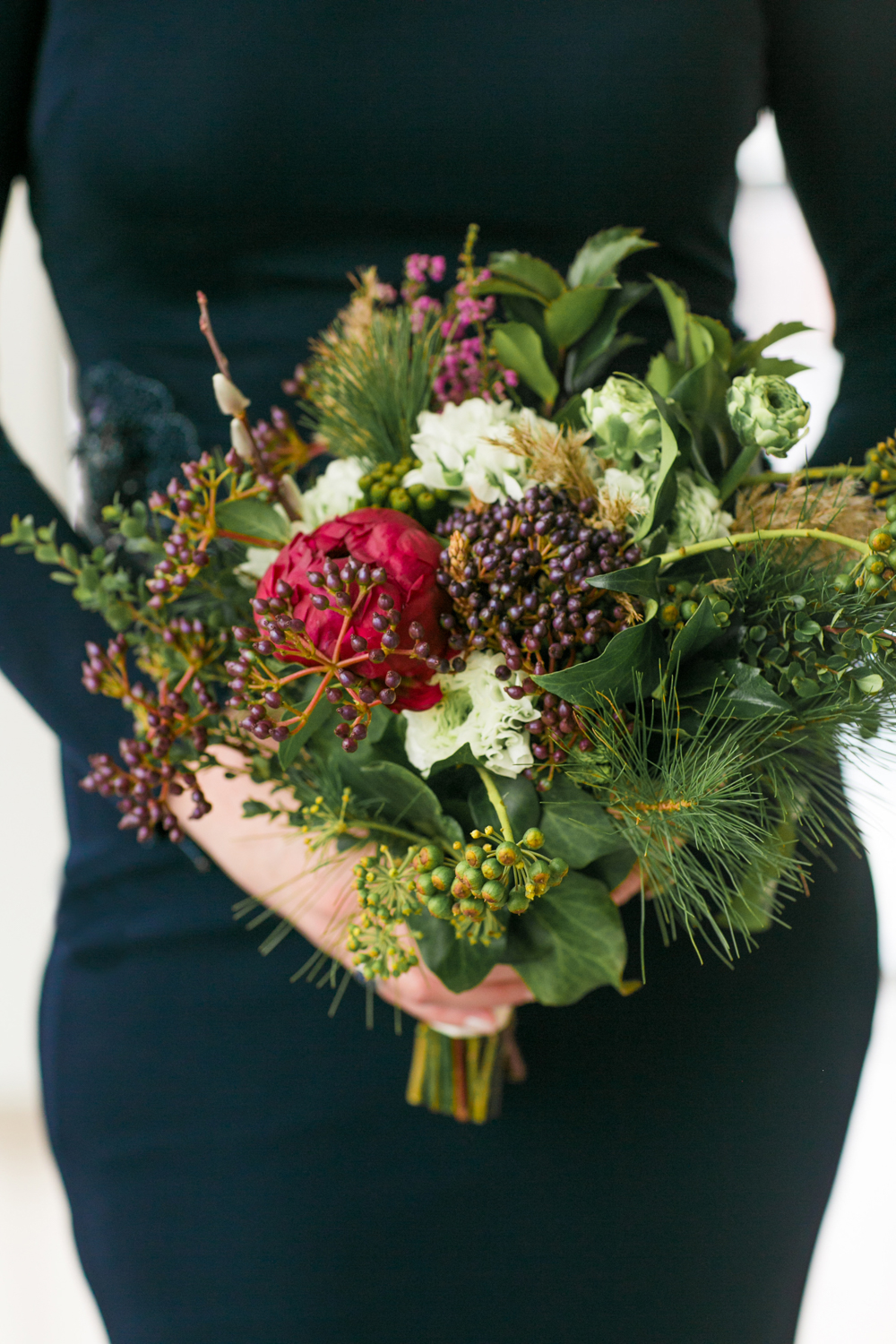 Petals and Roots Elopement bouquet