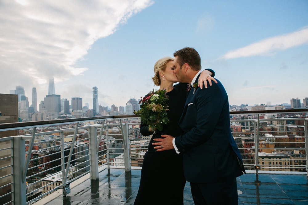 Hotel Elopement in Manhattan