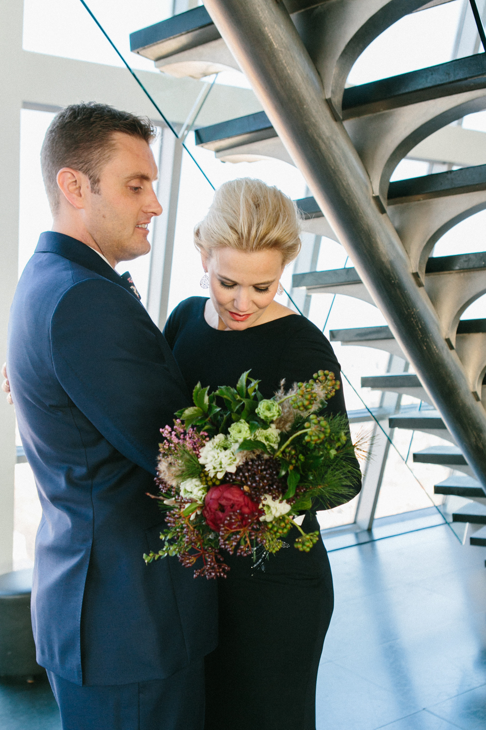 Black tie elopement photographer New York City