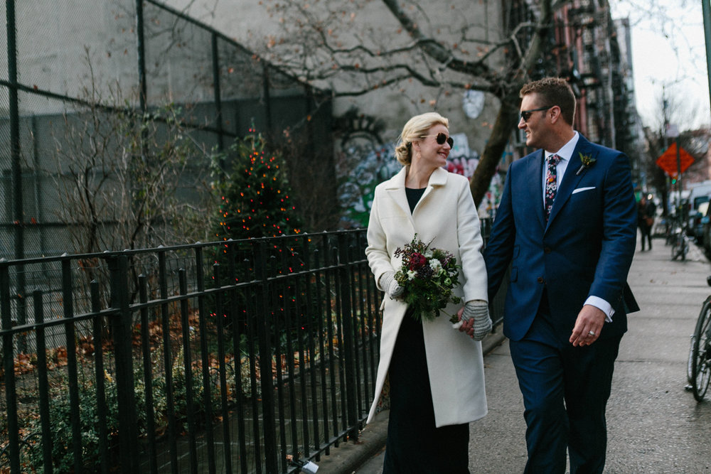 Classic New York City elopement photographer