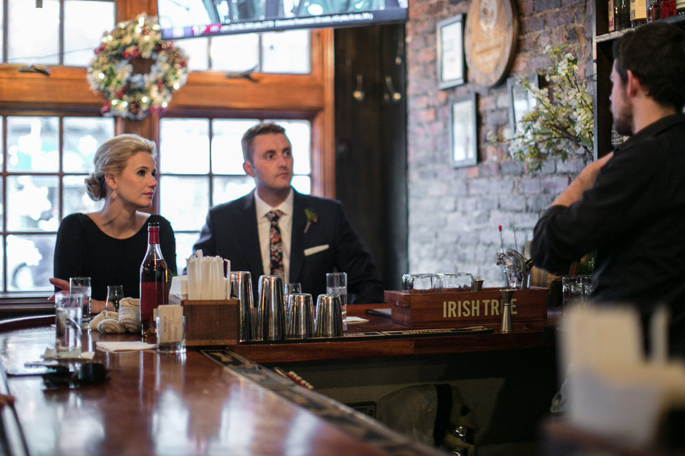 Manhattan Elopement in a NYC Bar