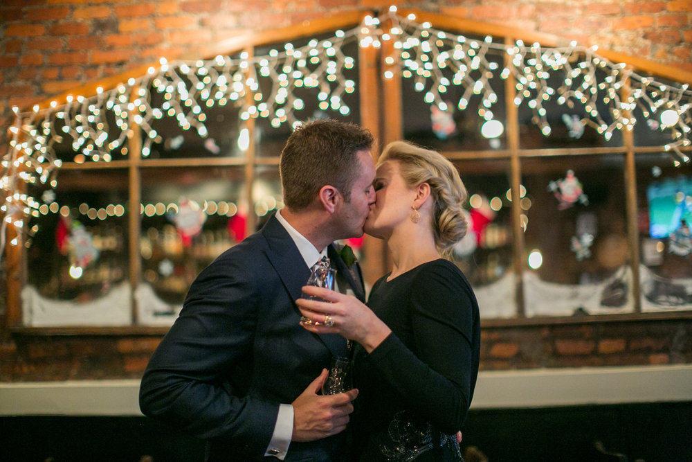 Pub elopement photos in New York City