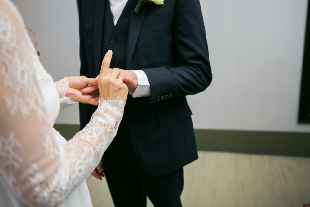 Manhattan Marriage Bureau Wedding Ceremony Photos