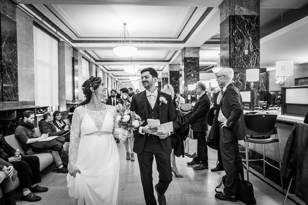 Manhattan Marriage Bureau Wedding Photographer