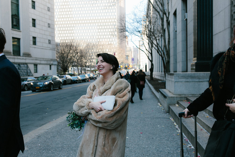 City Hall Wedding Photographer New York City