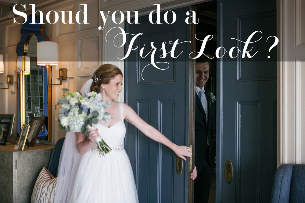 Should You Do a First Look